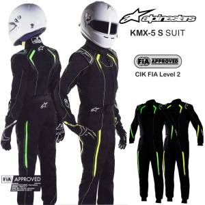 Racing Suits - Kart Racing Suits - Alpinestars KMX-5 S Youth Karting Suits - $339.95
