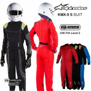Racing Suits - Kart Racing Suits - Alpinestars KMX-9 S Youth Karting Suits - $239.95