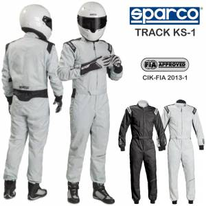 Racing Suits - Kart Racing Suits - Sparco Track KS-1 Karting Suits - $225