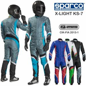 Karting Gear - Karting Suits - Sparco X-Light KS-7 Karting Suit -$550
