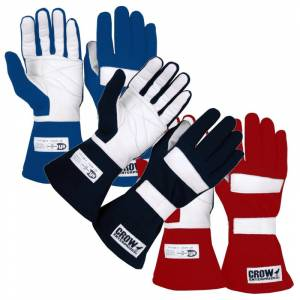 Racing Gloves - Shop All Auto Racing Gloves - Crow Standard Nomex® - $42.94