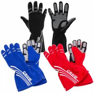 Safety Equipment - Racing Gloves - Crow Gloves