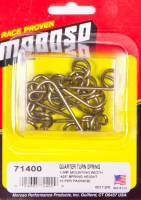 "Quick-Turn Fasteners - Quick-Turn Fastener Springs - Moroso Performance Products - Moroso Quick Fastener Spring - 1 3/8"" Spring; Spring Height: .425"" - (10 Pack)"