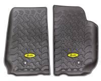 Recently Added Products - Bestop - Bestop Front Floor Liner Plastic Black/Textured - Jeep Wrangler JK 2007-13