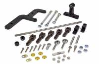Throttle Linkage - Sprint Car Throttle Linkage Kits - The Blower Shop - The Blower Shop Side Mount Throttle Linkage Dual Quad