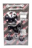 Pulley Kits - Serpentine Belt Pulley Kits - Billet Specialties - Billet Specialties Driver Side Air Conditioning Bracket Head Mount Plastic/Steel - Big Block Chevy
