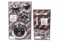Recently Added Products - Billet Specialties - Billet Specialties Conversion Pulley Kit 6 Rib Serpentine Billet Aluminum - Small Block Chevy