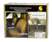 Recently Added Products - CoverCraft - CoverCraft Carhartt SeatSaver Seat Cover Front Row - GM Fullsize Truck 2014-16