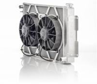Cooling & Heating - C&R Racing - C&R Racing Module Radiator and Fan Driver Inlet/Pass Outlet Trans Cooler - Aluminum - GM F-Body 1967-69