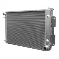 Cooling & Heating - C&R Racing - C&R Racing Crossflow Radiator Driver Inlet/Pass Outlet Trans Cooler - Aluminum - GM F-Body 1967-69