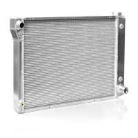 Cooling & Heating - NEW PRODUCTS - Radiators - NEW - C&R Racing - C&R Racing Direct Fit Radiator Driver Inlet/Pass Outlet Trans Cooler - Aluminum - GM F-Body 1970-81
