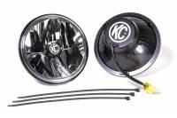 "Lights and Components - Exterior Light Assemblies - KC HiLiTES - KC HiLiTES Gravity LED Headlight 7"" OD LED H4 Bulb"