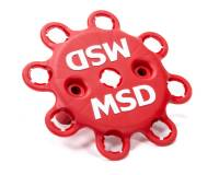 Distributor Parts & Accessories - Distributor Wire Retainers - MSD - MSD Plastic Distributor Wire Retainer Red