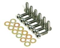 "Hardware & Fasteners - Sprint Car Bolt Kits - Mettec - Mettec 1/4-28"" Thread Fuel Cell Plate Bolt 7/8"" Long"