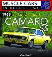 S-A Design Books - Chevrolet Camaro 1969 SS