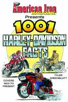 S-A Design Books - S-A Design Books 1001 Harley-Davidson Facts Book 352 Pages