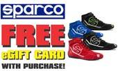 Sparco Shoes Free Pit Stop USA eGift Card Offer!