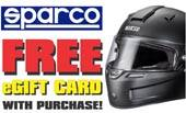 Sparco Helmets Free Pit Stop USA eGift Card Offer