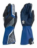 Racing Gloves - Kart Racing Gloves - Sparco - Sparco Motion KG-5 Karting Glove - Blue