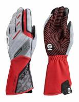 Racing Gloves - Kart Racing Gloves - Sparco - Sparco Motion KG-5 Karting Glove - Red