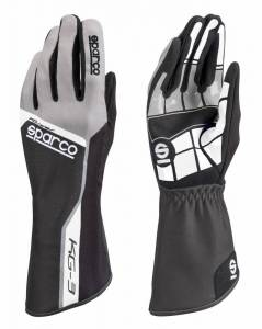 Karting Gear - Karting Gloves - Sparco Track KG-3 Karting Glove - $49.99