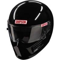 Safety Equipment - Helmets - Simpson Race Products - Simpson Bandit Helmet - Black
