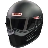 Helmets - Simpson Helmets - Simpson Race Products - Simpson Bandit Helmet - Matte Black