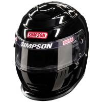 Simpson Helmets - Simpson Speedway Shark Helmet - $869.95 - Simpson Race Products - Simpson Speedway Shark Helmet - Black