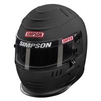 Simpson Helmets - Simpson Speedway Shark Helmet - $869.95 - Simpson Race Products - Simpson Speedway Shark Helmet - Matte Black