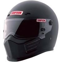 Simpson Helmets - Simpson Super Bandit Helmet - $569.95 - Simpson Race Products - Simpson Super Bandit Helmet - Matte Black