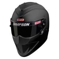 Safety Equipment - Helmets - Simpson Race Products - Simpson Diamondback Helmet - Matte Black