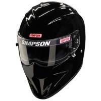 Safety Equipment - Helmets - Simpson Race Products - Simpson Diamondback Helmet - Black