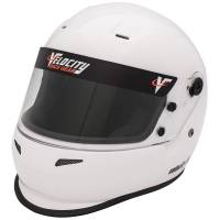 Kids Race Gear - Kids Helmets - Velocity Race Gear - Velocity Outlaw Youth Helmet - White