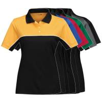 Crew Apparel - Tri-Mountain Racewear - TMR Double-Clutch Women's Polo Shirt