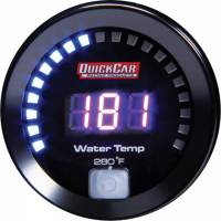 Gauges - Digital Water Temp Gauges - QuickCar Racing Products - QuickCar Digital Water Temp Gauge 100-280