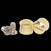 Tear-Offs - Tear-Off Buttons - Pulse Racing Innovations - Pulse Aluminum Tear Off Posts - Gold