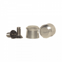 Tear-Offs - Tear-Off Buttons - Pulse Racing Innovations - Pulse Aluminum Tear Off Posts - Silver