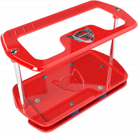 Battery Boxes, Trays and Components - Battery Trays - Savior Products - Savior Show Case - Group 27 Battery - Red