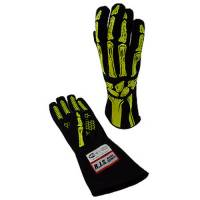 Safety Equipment - RJS SAFETY - RJS Double Layer Skeleton Gloves - Yellow - Medium