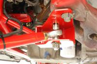 Street Performance USA - BMR Suspension - BMR Suspension K-Member - Turbo LS1 Motor Mount  - Red - 1998-02 GM F-Body