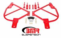 Chassis Components - Subframe Connectors - BMR Suspension - BMR Suspension Subframe Connectors - Bolt-In - Red - 2010-15 Camaro