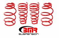 """Chevrolet Camaro (5th Gen) Suspension - Chevrolet Camaro (5th Gen) Springs - BMR Suspension - BMR Suspension Lowering Springs - 1.2"""" Drop - Red - 2010-15 Camaro"""