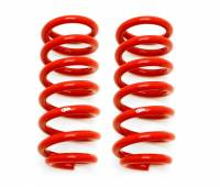 "Chevrolet Camaro (4th Gen) Suspension - Chevrolet Camaro (4th Gen) Springs and Components - BMR Suspension - BMR Suspension Lowering Springs - Front - 1.25"" Drop  - Red - 1993-02 GM F-Body"