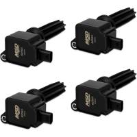 Ignition Components - NEW - Ignition Coils - NEW - Mallory Ignition - Mallory Ignition Coil 4pk Ford Eco-Boost 2.0L/2.3L Black