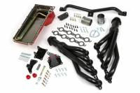 Exhaust System - Exhaust - NEW - Hamburger's Performance Products - Hamburger's Performance Products Swap In A Box Kit-LS Engine Into 73-87 GM Trk