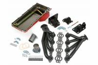 Exhaust System - Exhaust - NEW - Hamburger's Performance Products - Hamburger's Performance Products Swap In A Box Kit-LS Engine Into S-10