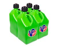 Tools & Pit Equipment - VP Racing Fuels - VP Racing Fuels 5 Gallon Motorsports Utility Jug - Square - Green (Case of 4)