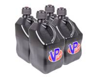 Tools & Pit Equipment - VP Racing Fuels - VP Racing Fuels 5 Gallon Motorsports Utility Jug - Square - Black (Case of 4)