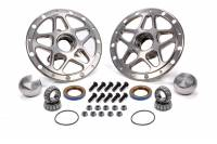 Recently Added Products - Falcon Transmission - Falcon Transmission Forged Alum Direct Mount Front Hub Kit Silver
