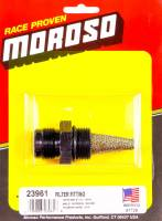 Oil Pump Components - Oil Pump Fittings - Moroso Performance Products - Moroso Filter Fitting - 12AN Male to -12 AN Male